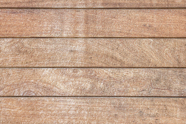 Wooden fence panel wall with detail