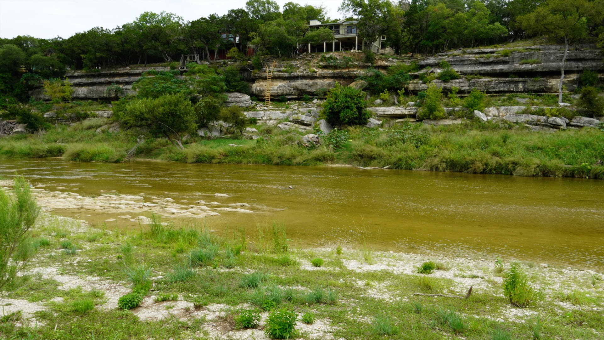 Blanco River flooding Wimberly Texas