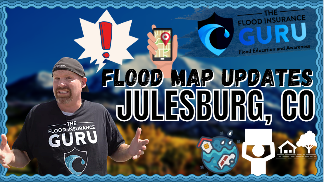 The Flood Insurance Guru | Flood Map Updates | Julesburg, Sedgwick County, Colorado