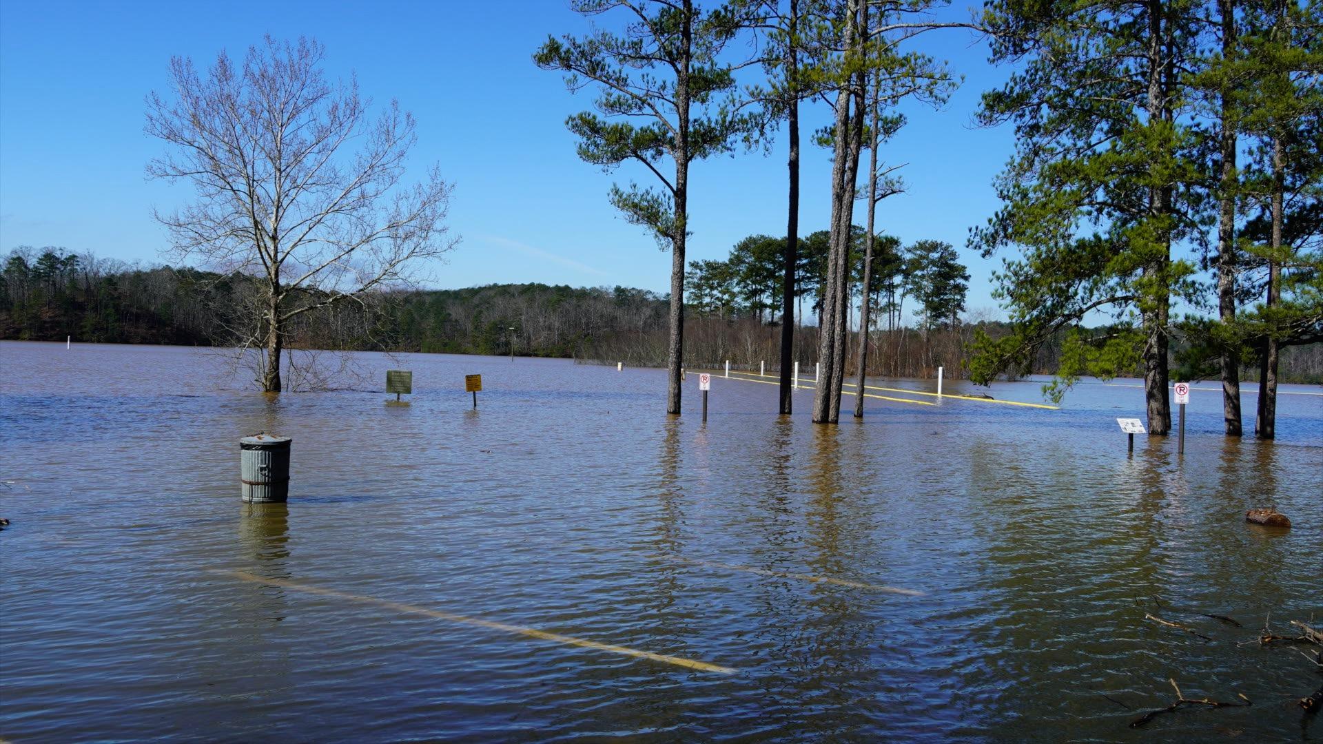 Lake altoona flooding